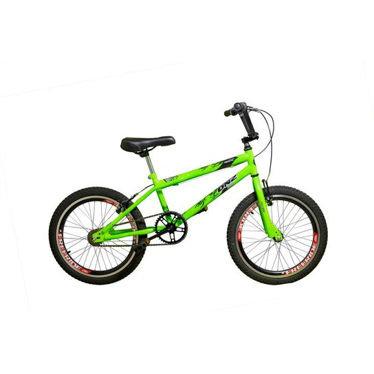d06385ff3801f Bicicleta Cross Bmx Aro 20 - Verde Limão   Netshoes