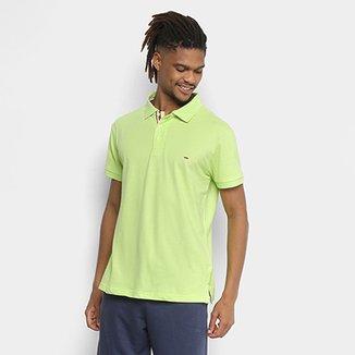 Camisa Polo Gangster Piquet Com Elastano Masculina 7ecfa72132ab8