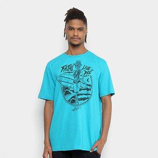 Camiseta Fatal Caveira Live Or Die Masculina 559e9ae8558c2