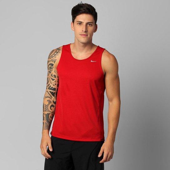 ebfd9d0584640 Regata Nike Miler Com Proteção UV Masculina - Compre Agora