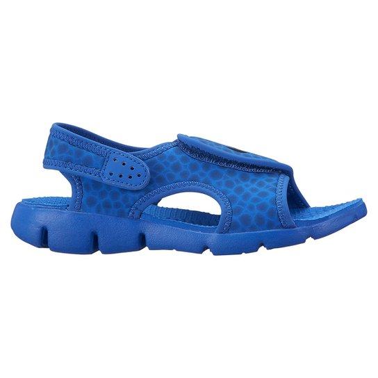 b258cb96836 Sandália Nike Sunray Adjust 4 Juvenil - Azul e Azul claro - Compre ...