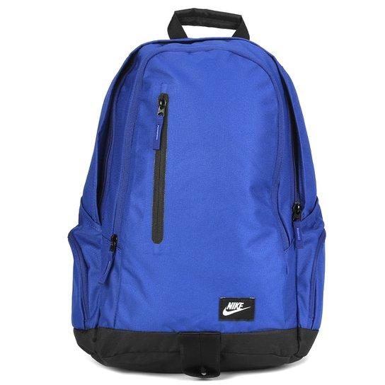 d29544f879 Mochila Nike All Access Fullfare - Azul Royal+Preto