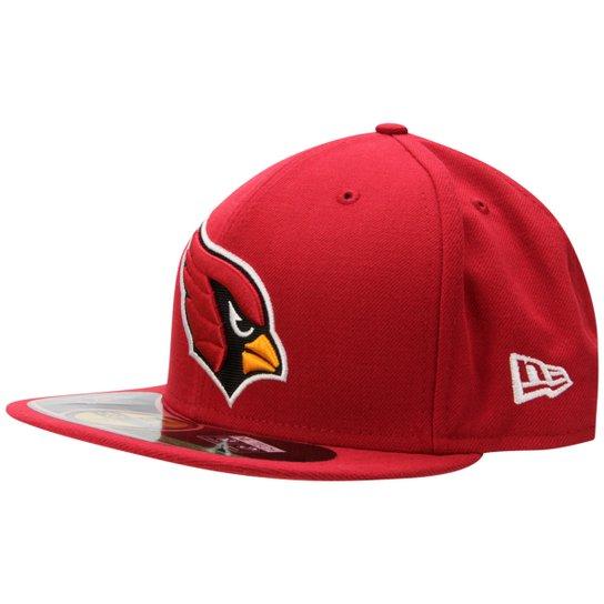 Boné New Era NFL 5950 Arizona Cardinals TC - Vermelho Escuro 0c24016b392