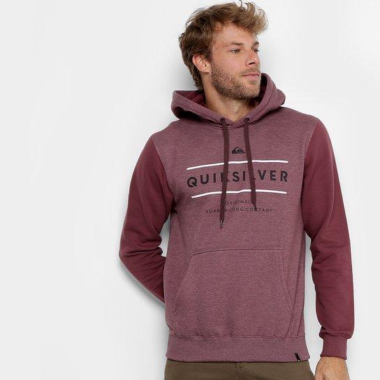 df2e918e917c8 Moletom Quiksilver Canguru Reverso Surfo Masculino - Compre Agora ...