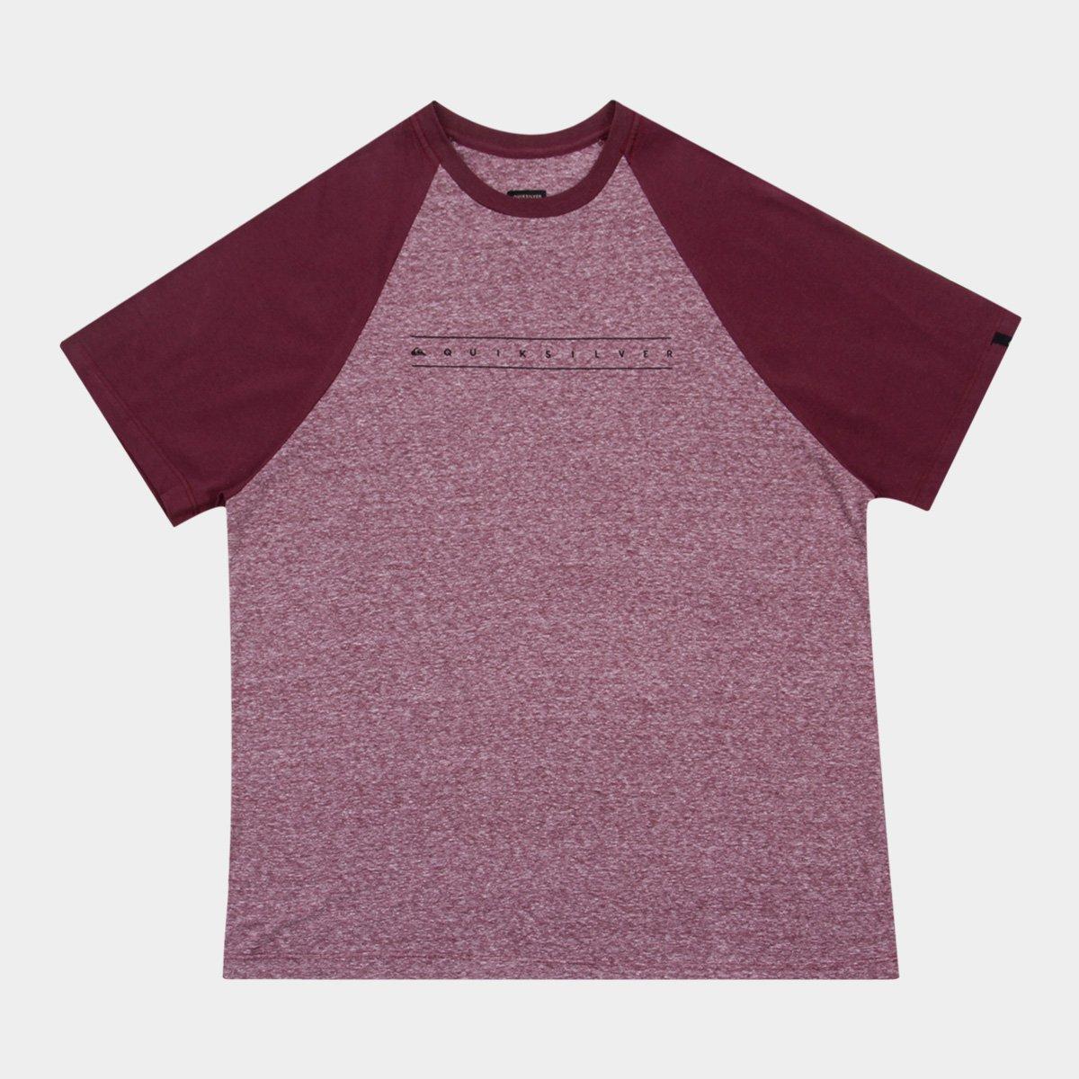 b8af7def541ae Camiseta Quiksilver Plus Size Especial Raglan Pack Iii Masculina