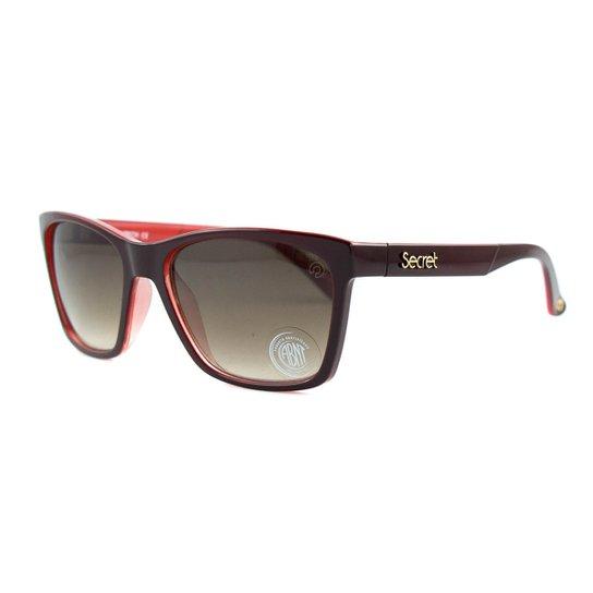 ... Óculos de Sol Secret Sophia Polarizado - Vinho - Compre Agora Netshoes  0e9528d476258d ... 643ca64d7e