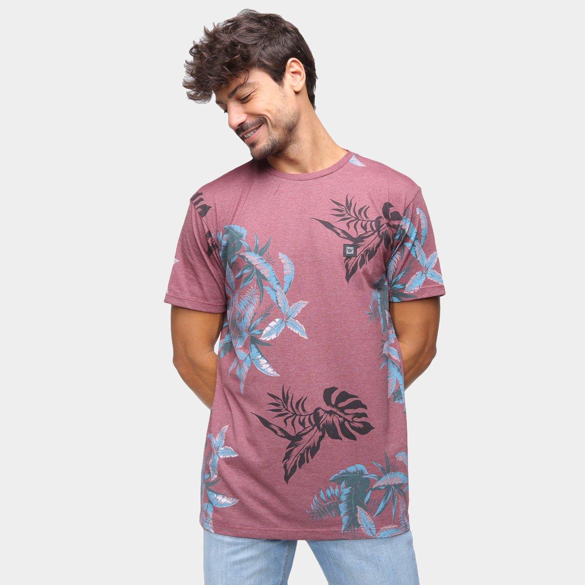 Camiseta Hang Loose Especial Leaves Masculina