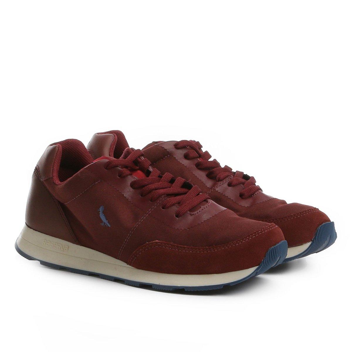 156fb9128 Tênis Couro Reserva Jogging Color Sola Masculino