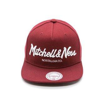 Boné Mitchell   Ness Pinscript Branded Nostalgia Aba Reta 0e5ef17a8bc
