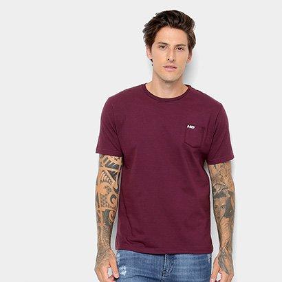 Camiseta HD Bolso Masculina