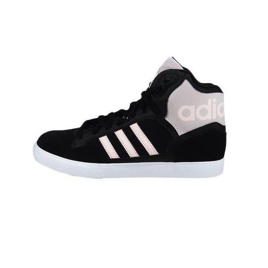 6077af93194c7 Tênis Adidas Extaball W - Preto+Rosa