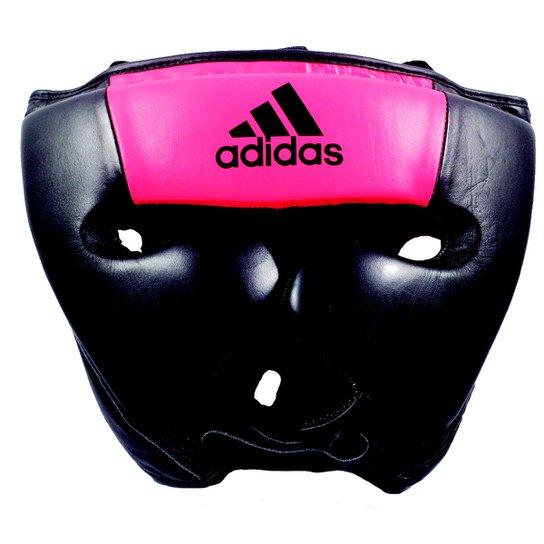 Protetor De Cabeça Sparring Adidas - Preto e Rosa - Compre Agora ... 293a072885