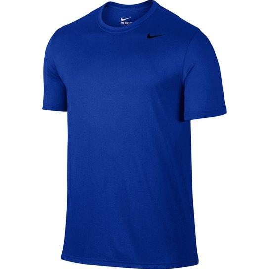 4cc2e69f73f4e Camiseta Nike Legend 2.0 Ss Masculina - Azul Royal - Compre Agora ...