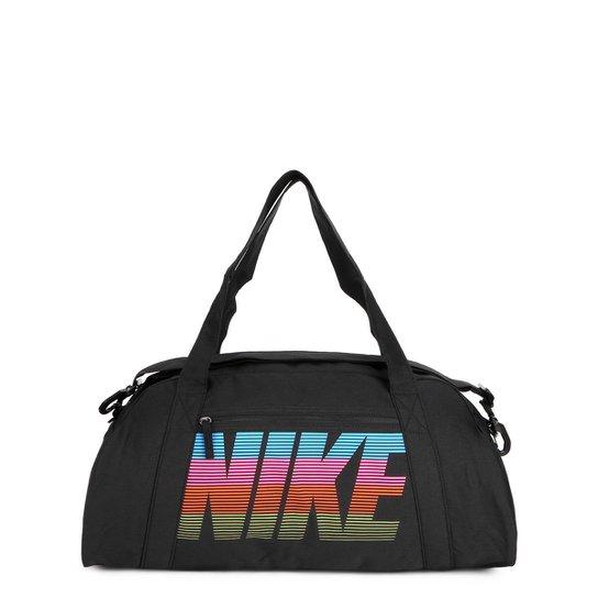 e8ec9e6cd Bolsa Nike Gym Club Feminina - Preto e Rosa | Netshoes