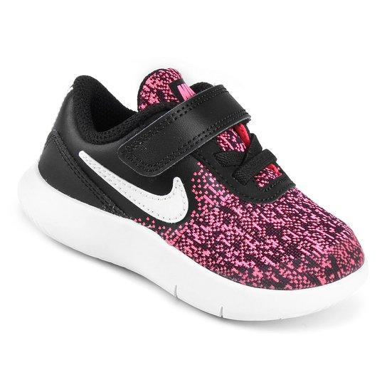 5aefcec0946 Tênis Infantil Nike Flex Contact Tdv - Preto e Rosa - Compre Agora ...