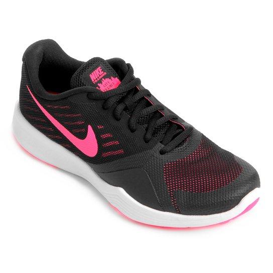 199f12663b Tênis Nike City Trainer Feminino - Preto e Rosa - Compre Agora ...