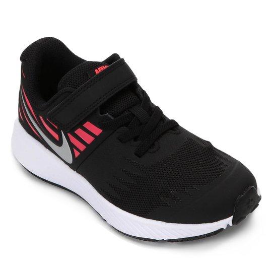 418db5acd6b Tênis Infantil Nike Star Runner Feminino - Preto e Rosa - Compre ...