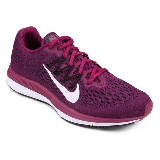 Tênis Nike WMNS Zoom Winflo 5 Feminino - Vinho - Compre Agora  4ef8c62f08b50