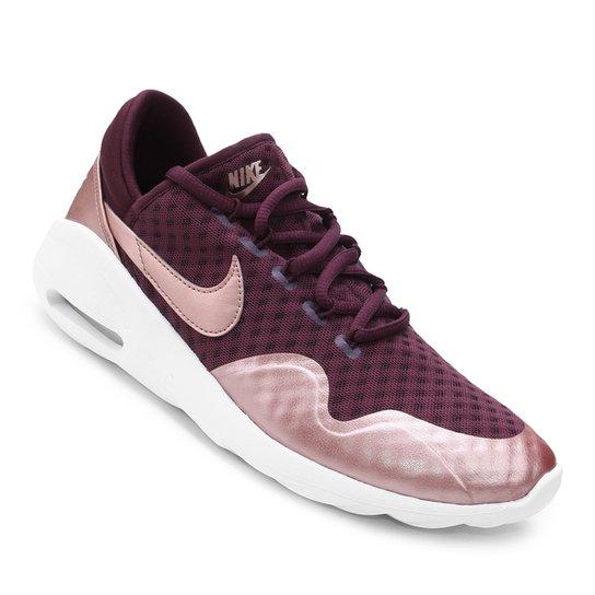 Tênis Nike Air Max Sasha Feminino - Vinho - Compre Agora  a134f3cc38f