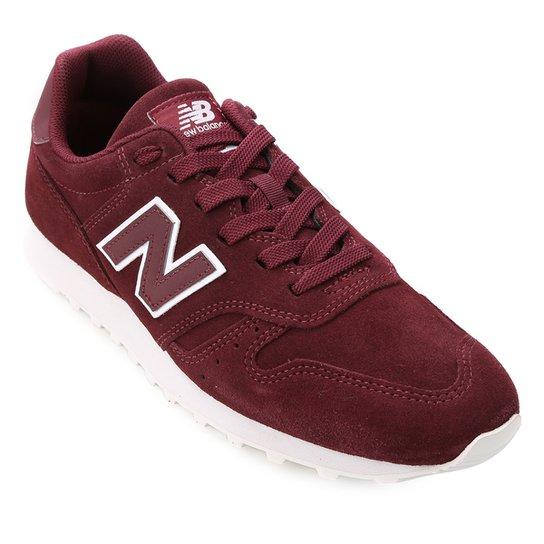 c4a7e2cfd Tênis Couro New Balance 373 Masculino - Vinho | Netshoes