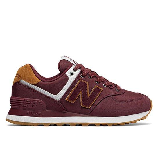 556d79839 Tênis New Balance 574 Casual Feminino - Vinho | Netshoes