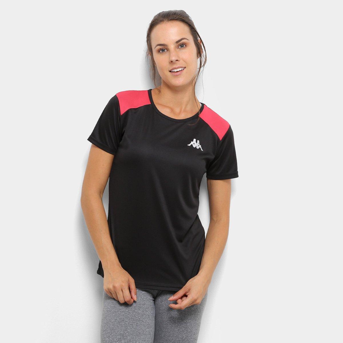 Camiseta Kappa Fluid Feminino. undefined e642ea6f86096
