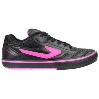 Chuteira Futsal Infantil Topper Dominator 3 Feminina 819e7eb681a93