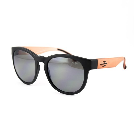 eb2b8777f Óculos de Sol Mormaii Ventura - Preto+Rosa