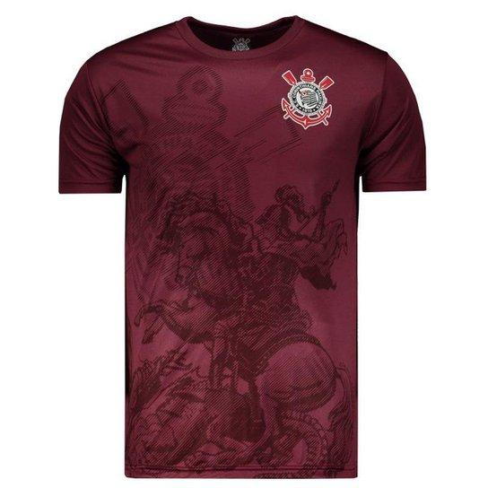 00e7ab5f51577 Camiseta Corinthians ST Jorge Masculina - Vinho - Compre Agora ...