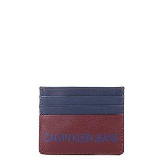 Carteira Couro Calvin Klein Porta Cartão Masculina 3f5f4766ef