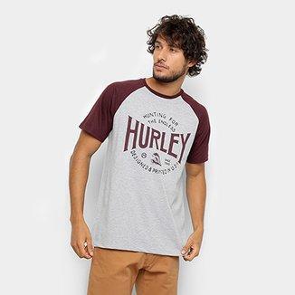 a1c3a9dff3 Camiseta Hurley Silk Raglan Hunting Masculina