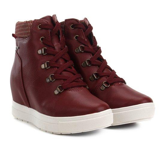 edab9e783 Tênis Dakota Sneakers Cano Médio Feminino - Vinho | Netshoes