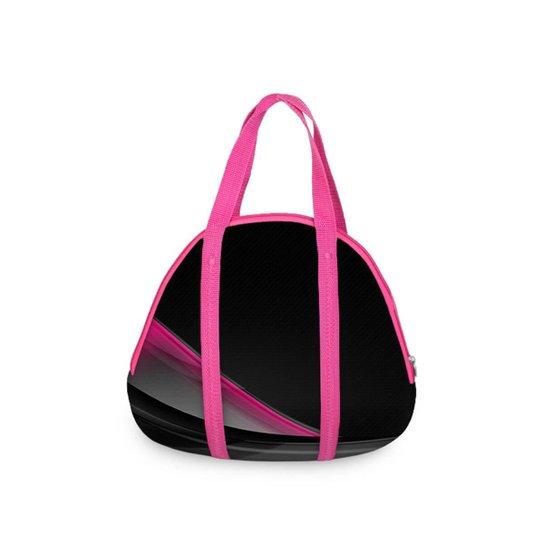 a4bdc63fa Bolsa Concha Fitness sem Bolso Pink Curve - Preto e Rosa | Netshoes