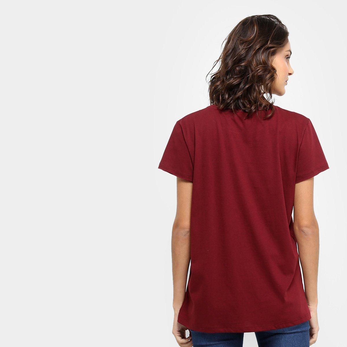 15556c0e4b ... Foto 2 - Camiseta Colcci Estampada True Love Feminina