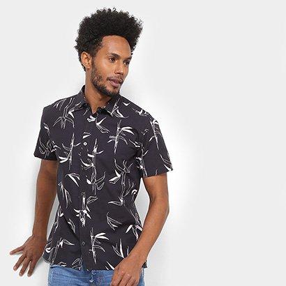 Camisa Colcci Manga Curta Estampada Classic Masculina