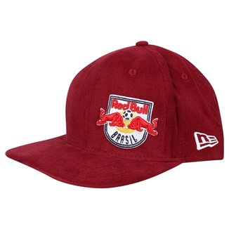 e8a56838e0b55 Boné New Era Red Bull Aba Reta 9FIFTY Of St Time Lol Soccer