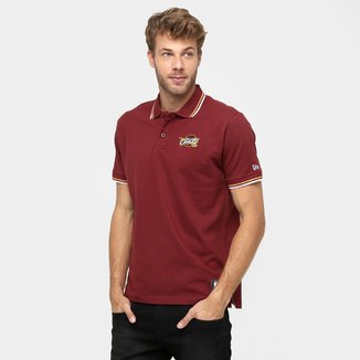 Camisa Polo New Era NBA Team Color Cleveland Cavaliers b67dab6c7be