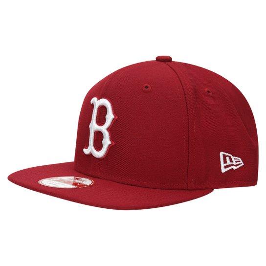 Boné New Era 950 Of Sn White On Cardinal Boston Red Sox - Compre ... 2af4e794aac