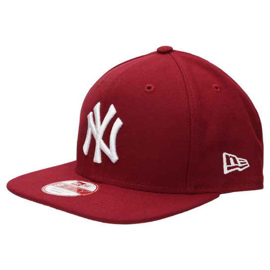 Boné New Era 950 Of Sn White On Cardinal New York Yankees - Compre ... 7aaec7d7ab3d