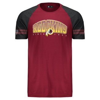 Camiseta New Era NFL Washington Redskins Masculina 53832eb5511