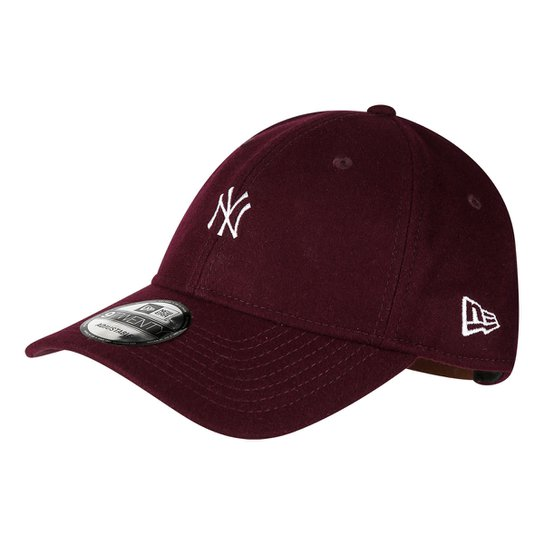55f2a6719b446 Boné New Era MBL New York Yankees Aba Curva 920 St Mlb Wool | Netshoes