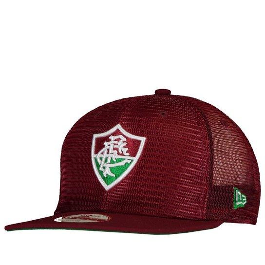 f861c7fd75442 Boné New Era Fluminense Escudo Grená - Compre Agora