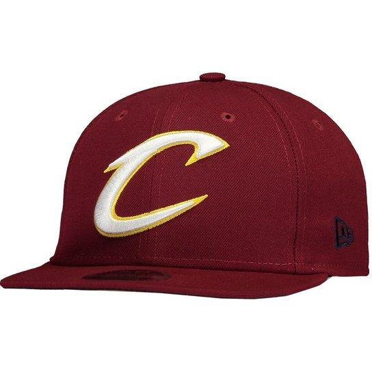 d42dd2e1e09e4 Boné New Era NBA Cleveland Cavaliers 950 - Vinho - Compre Agora ...