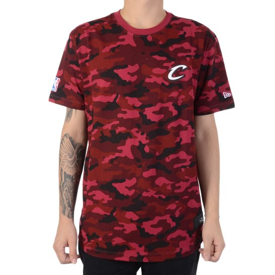 8fc9b570d94 Camiseta New Era Militar Ful Cleveland Cavaliers - Compre Agora ...