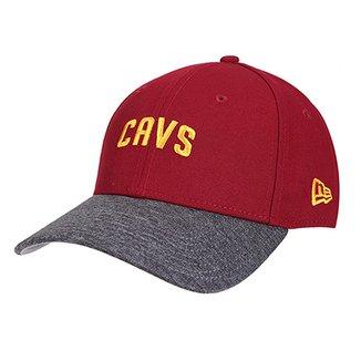 Boné New Era NBA Cleveland Cavaliers Aba Curva 940 Sn Shadow 5082dec71a5