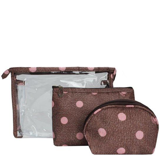 31252f869 Kit Necessaire Le Postiche Feminina Poa - Compre Agora | Netshoes