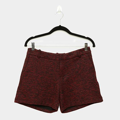 Short Queens Tweed Feminino