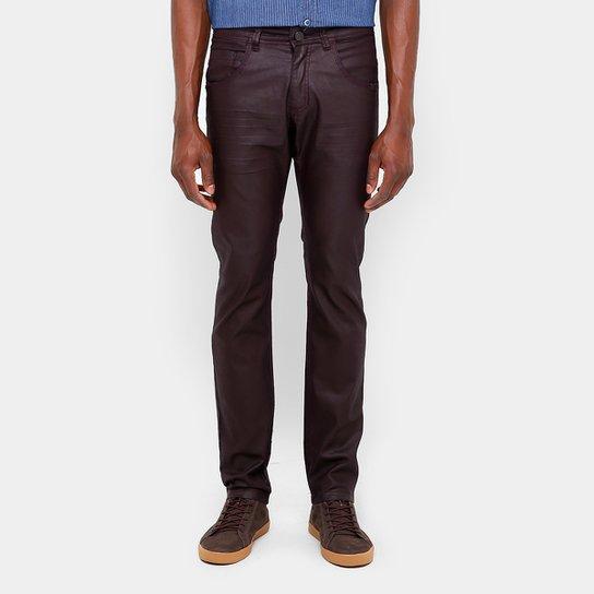 18b862358 Calça Skinny Zune Color Resinada Masculina - Compre Agora