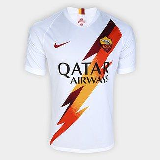 8f8dd13b11066 Camisa Roma Away 19/20 s/nº Torcedor Nike Masculina