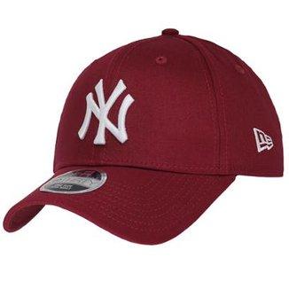 030593595 Boné New Era Aba Curva Sn Mlb Ny Yankees Colors Low